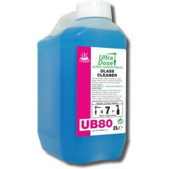 Clover UB80 Super Concentrated Glass Cleaner Janitorial Supplies