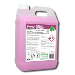 Clover Fresh Floral Bouquet Daily Cleaner Disinfectant Janitorial Supplies