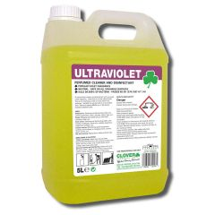 Clover Ultraviolet Perfumed Cleaner Disinfectant Janitorial Supplies