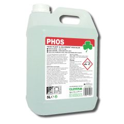 Clover Phos Food Plant Descaler Janitorial Supplies