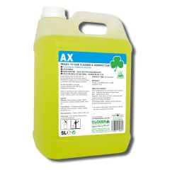 Clover AX Bactericidal Cleaner Disinfectant Janitorial Supplies