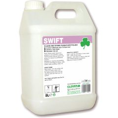 Clover Swift Clean & Shine Furniture Polish Janitorial Supplies