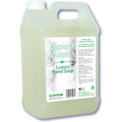 Clover Savon Blanc Luxury Hand Soap Janitorial Supplies