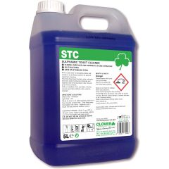 Clover STC Acidic Toilet & Washroom Cleaner 5 Litre Janitorial Supplies