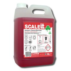 Clover ScaleIT Sanitary Cleaner  Descaler 5 Litre Janitorial Supplies