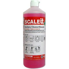 Clover ScaleIT Sanitary Cleaner  Descaler 1 Litre Janitorial Supplies