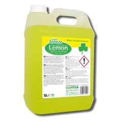 Clover Lemon Breeze Lemon Scented Fragrance Janitorial Supplies