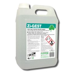 Clover Zi-Gest Enzyme Drain Maintainer Janitorial Supplies