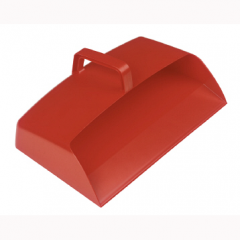 Dustpan Semi-enclosed Red Janitorial Supplies