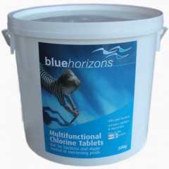 Multifunctional 200g Chlorine Tablets 25Kg Janitorial Supplies