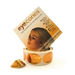 Eyecones Disposable Eye Protection for Sunbed Use Janitorial Supplies