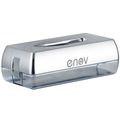 Facial Tissue Dispenser Chrome Janitorial Supplies