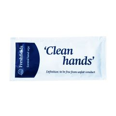 Freshfields Hand & Face Wipes In Sachet Janitorial Supplies