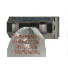 Damp Kit Bag Stainless Steel Dispenser Janitorial Supplies