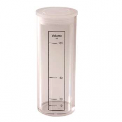 Lovibond Plastic Dilution/Shaker Tube 100ml Janitorial Supplies