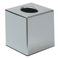 Facial Tissue Cube Dispenser Stainless Steel Janitorial Supplies