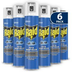 Raid Fly and Wasp Insect Killer 300ml Janitorial Supplies