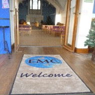 Mat Rental Custom Logo 85 x150cm - 12 Services Janitorial Supplies