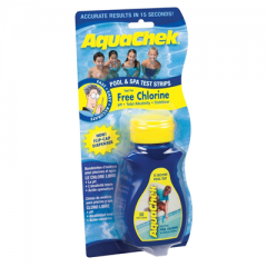 AquaChek Free Chlorine Pool & Spa Test Strips Janitorial Supplies