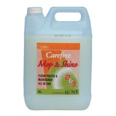Carefree Mop & Shine All In 1 Floor Polish & Maintainer Janitorial Supplies