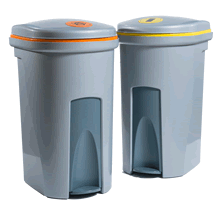 Clinical Waste Disposal Bin - 12 Services Janitorial Supplies