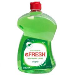 eFresh Original Washing Up Liquid 500ml Janitorial Supplies