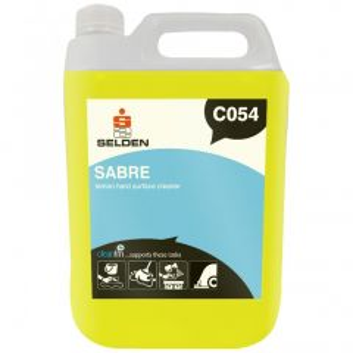 Selden C054 Sabre Rapid Fragrant Cleaner Janitorial Supplies