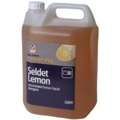 Selden Seldet Concentrated Detergent Lemon Janitorial Supplies