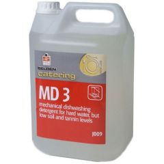 Selden J009 MD 3 Dishwashing Detergent Janitorial Supplies