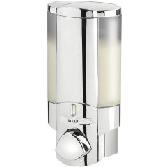 Aviva 1 Chamber Soap Dispenser Chrome Janitorial Supplies