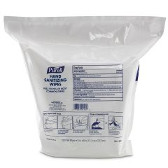 Purell Gym Antimicrobial 1200 Wipes Refill Janitorial Supplies