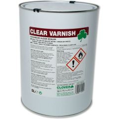 Clover Floor Sealant Clear Varnish Janitorial Supplies
