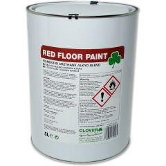 Clover Floor Sealant Red Paint Janitorial Supplies