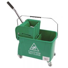 King Speedy Bucket and Wringer Green Janitorial Supplies