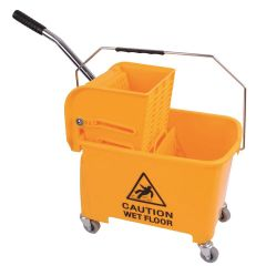 King Speedy Bucket and Wringer Yellow Janitorial Supplies