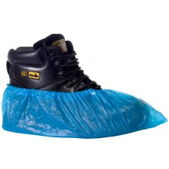 Pal CPE Overshoes Large Blue Janitorial Supplies