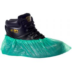 Pal CPE Overshoes Large Green Janitorial Supplies