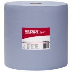 Katrin Classic Industrial Towel XXL 3 Ply Blue - Pallet Janitorial Supplies