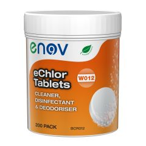 Enov eChlor Chlorine Tablets Janitorial Supplies