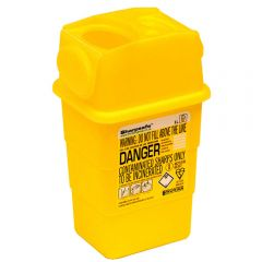 Sharps Disposal Bin 0.6 Litre Janitorial Supplies