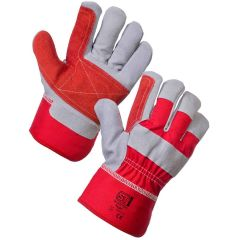 Elite Riggers Gloves Red Janitorial Supplies