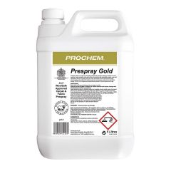 Prochem Prespray Gold 5 Litre Janitorial Supplies