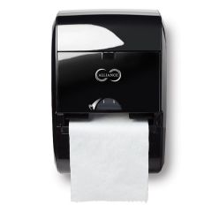 Alliance Hands-Free Towel Dispenser Black Janitorial Supplies