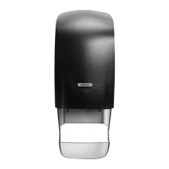 Katrin Inclusive System Toilet Dispenser Black with Core Catcher Janitorial Supplies