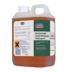 Jeyes C41 Bactercidal Hand Dishwash Detergent 2 Litre Janitorial Supplies