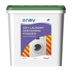 Enov Oxy Laundry Destaining Powder 10kg Coloursafe Janitorial Supplies