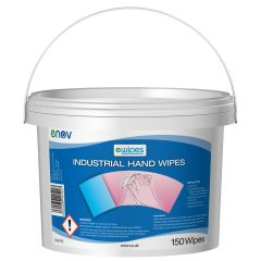 eWipe Hand Cleaning Wet Wipes Industrial Bucket Janitorial Supplies