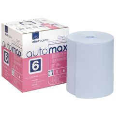 Automax 6 Cellulose Solvent Wipe Blue Janitorial Supplies
