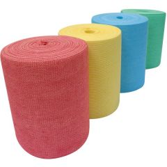 Envirowipe Plus Cleaning Cloth Rolls Yellow Janitorial Supplies