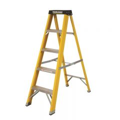 Fibreglass Ladder 5 Tread Builders Steps Janitorial Supplies
